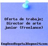 Oferta de trabajo: Director de arte junior (Freelance)