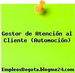 Gestor de Atención al Cliente (Automoción)