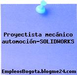 Proyectista mecánico automoción-SOLIDWORKS