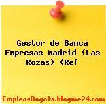 Gestor de Banca Empresas Madrid (Las Rozas) (Ref