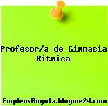 Profesor/a de Gimnasia Ritmica