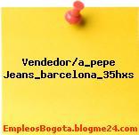 Vendedor/a_pepe Jeans_barcelona_35hxs