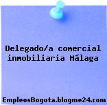 Delegado/a comercial inmobiliaria Málaga