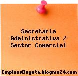 Secretaria Administrativa / Sector Comercial