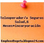 Teleoperador/a Seguros Salud.6 Meses+incorporación