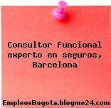Consultor Funcional experto en seguros, Barcelona
