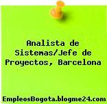 Analista de Sistemas/Jefe de Proyectos, Barcelona