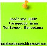 Analista ABAP (proyecto área Turismo), Barcelona