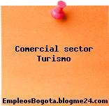 Comercial sector turismo