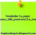 Vendedor/a_pepe Jeans_10h_pontevella_temp