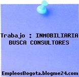 Trabajo : INMOBILIARIA BUSCA CONSULTORES