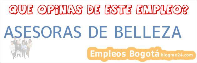 ASESORAS DE BELLEZA