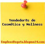 Vendedor@s de Cosmética y Wellness