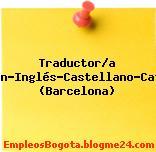 Traductor/a Alemán-Inglés-Castellano-Catalán (Barcelona)